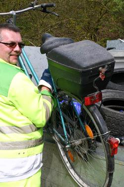 altes Fahrrad©Abfall-Service Osterholz