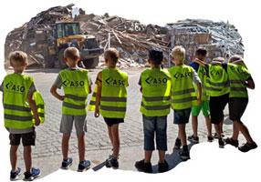 Besichtigung des Entsorgungszentrums©Abfall-Service Osterholz GmbH