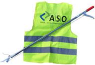 Utensilien zum Müllsammeln©Abfall-Service Osterholz